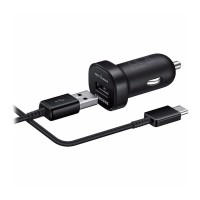 Samsung Adaptive Mini Car Charger with USB Type C / Charger Mobil