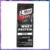 Sale L Men 2go Whey Protein Coklat Susu Cair Lmen Siap Minum 2 Go To