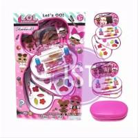 Mainan Anak Perempuan MakeUp LOL 3susun set collection