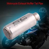 Pipa Muffler Knalpot Ekor Sepeda Motor Universal