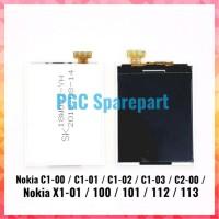Hot Sale LCD 12 Pin Nokia C1 00 C1 01 C1 02 C1 03 C2 00 X1 01 100 101