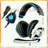 Diskon Sades Sa 903 Headset Gaming 7 1 Usb Surround Sound