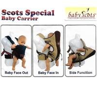 Gendongan Bayi Samping dan Depan Baby Scots 3in1 Baby Scot Carrier