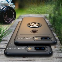 Softcase Honor 9 Lite Case Invisible Ring