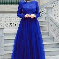 Baju Atasan Wanita Maxi Dress Baju Muslim Mx Almaer Benhul Ta7.1814