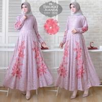 Baju Atasan Wanita Maxi Dress Baju Muslim Maxi Juanda Dusty Tatop.102