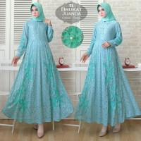 Baju Atasan Wanita Maxi Dress Baju Muslim Maxi Juanda Tosca Tatop.102