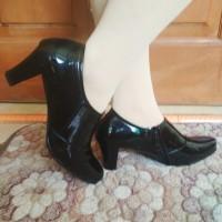 sepatu high heels sepatu kerja wanita 7cm