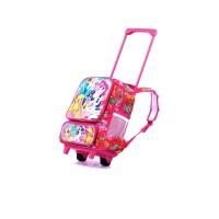 tas troli anak perempuan /tas sekolah dorong boneka