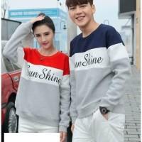 BG - Sweater Couple Sunshine (Lengan Panjang)