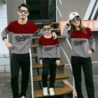 BG - Sweater Family Dodgers (Lengan Panjang)