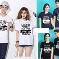 BG - Kaos Couple Limited (Lengan Pendek)