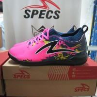 Sepatu Futsal SPECS CYANIDE TNT 19 Black Pink Sapatu Putsal Original