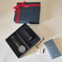 Jam Daniel Wellington Paket Hadiah Classic Black Sheffield 36&40mm ori