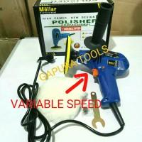 PROMO Mesin Poles mobil DOUBLE THUNDERS DT-P 5000+Wool Polisher, murah