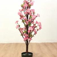 READY STOCK!! 1 Set Bunga Muter / Bunga Meihua Cantik / Bunga plastik