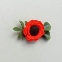 Bros Bunga Rose Flanel
