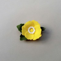 Bros Bunga Yellow Flanel