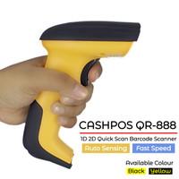 CASHPOS QR-888 1D 2D Red LED Sight Barcode Scanner