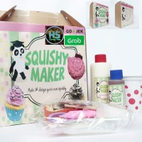 Squishy Maker Paket Kota Espak Soft - membuat Squishy - Squishy DIY