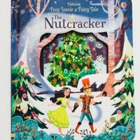 Usborne peep inside a fairy tale the nut cracker buku import anak