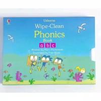 Usborne wipe clean phonics book activity book buku import anak