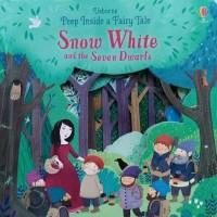 Usborne peep inside a fairy tale snow white and seven dwarfs buku impo
