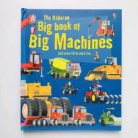 Usborne big book of machine buku import anak