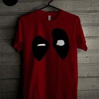 Kaos Karakter Deadpool Orazio Katun Merah
