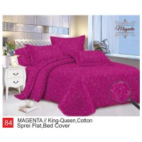 Rumindo Bedcover Set Magenta