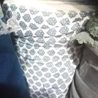 jual kain spandek /bahan gamis jersey motif bunga meteran/ kain kiloan