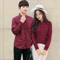 Couple Kemeja Red Box / Baju Pasangan