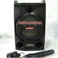 Speaker Portable Wireless Meeting Asatron HT-8868 USB ( 8 Inch )
