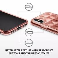samsung j8 2018 ume prisma diamond 3D vogue soft case kesing silikon
