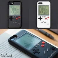 Wanle Retro GameBoy Case for Iphone 6/6s/6+/7/7s/7+/8/8s/8+/Iphone X - Enam S P Putih