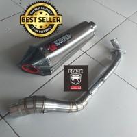 Knalpot Scorpion Titan Fullsystem Nmax Aerox Vario PCX 150 Mio Beat dl
