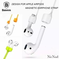Baseus Magnetic Silicone Anti Lost Strap for AirPods - Orange