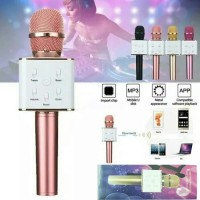 Mic Q7 Wireless Speaker Karaoke Smule Microphone Bluetooth Q71 KTV 1