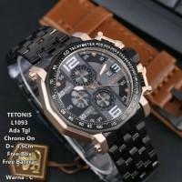 Jam Tangan Pria Tetonis L1093 Original Jam Cowok Keren Elegant Bagus