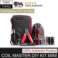 Authentic Coil Master DIY KIT MINI | tool tang tweezer obeng tas vape