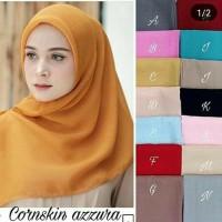 Hijab Jilbab s4 segiempat corn skin by azara