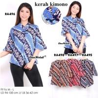 Atasan Blouse Batik cheongsam Stretch A495A496A497A498