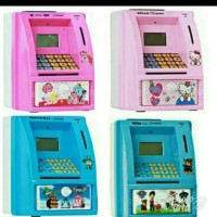 mainan anak mesin atm bank mini
