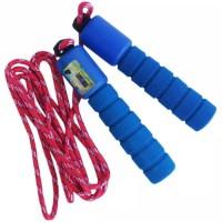 Tali Skipping Hitung Otomatis Jump Rope Counter - Biru