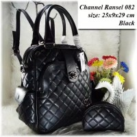 TAS BATAM TAS WANITA IMPORT TAS Chanel Ransel 082 Backpack Cewek Murah