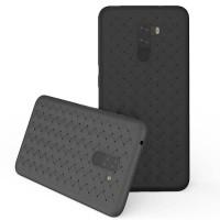 casing xiaomi pocophone f1 case weave anti shock cover leather WOVEN