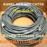 Kabel LAN UTP Cat5E 100Meter 100 M 100M Siap Pakai Setara AMP Belden