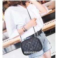 Tas Selempang Wanita Impor Tas Sling Bag Cewek Korean Style MJ Hitam