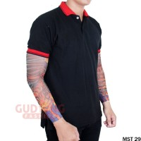 Manset Pria Lengan Panjang Motif Tattoo - MST 29