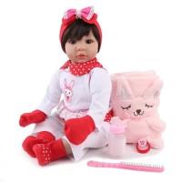 Boneka Reborn NPK Sarung Tangan Merah / Boneka Mirip Bayi
